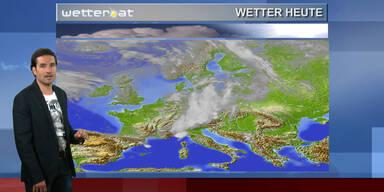 Das Wetter am Vormittag: Im Westen sonnig, sonst unbeständig
