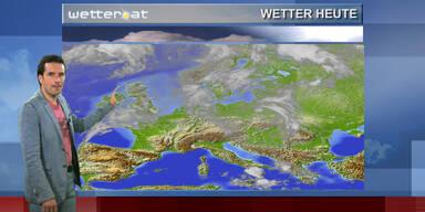 Das Wetter am Vormittag: Gewitterneigung im Westen, sonst Sonne