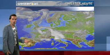 Das Wetter am Vormittag: Wechselhaft
