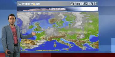 Das Wetter am Nachmittag: Sonne, vom Westen zunehmend gewittrig
