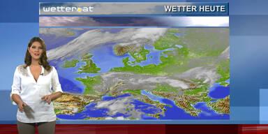 Das Wetter am Nachmittag: Regnerisch & unbeständig