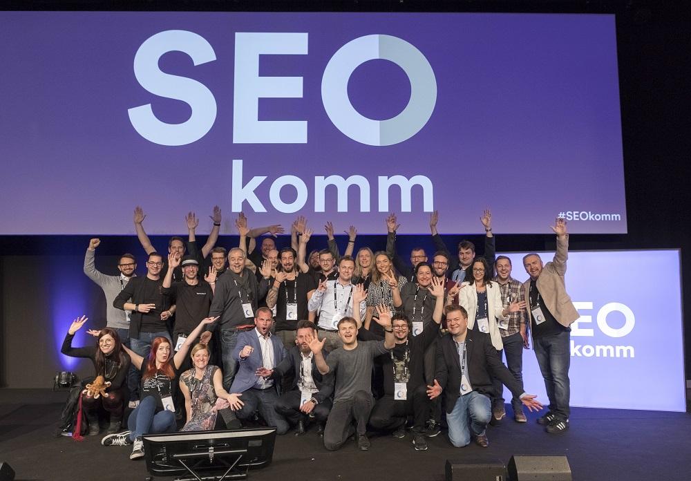SEOkomm - 2018 - Vortragende, Moderatoren, Veranstalter