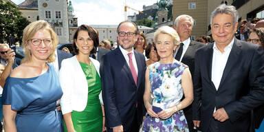 Polit-Festspiele zum Salzburg-Auftakt