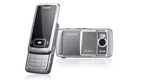 HSDPA-Handy als vollwertige Digicam