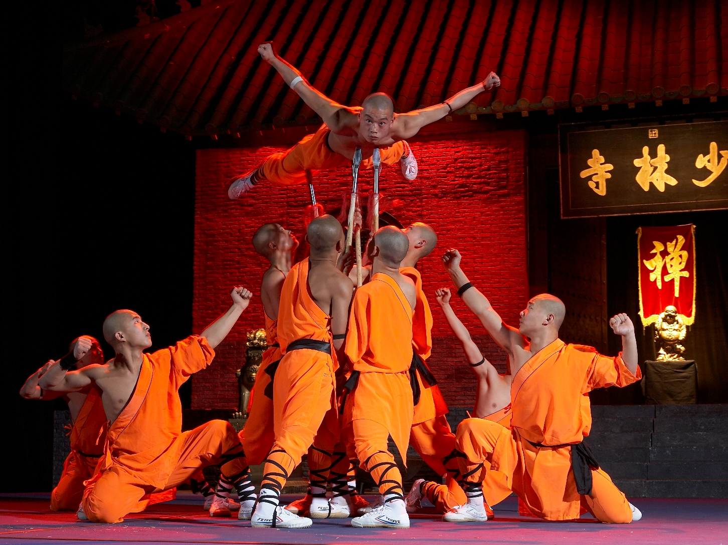 Shaolin Mönche