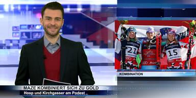 SKI WM 2015: Maze-Triumph vor Hosp & Kirchgasser