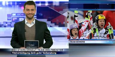 SKI WM 2015: Gold im Team-Bewerb & Hosp-Hoppala