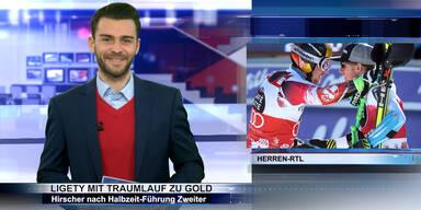 SKI WM 2015: Ligety holt Gold, Silber für Hirscher