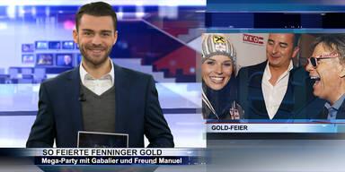 SKI WM 2015: Fenningers Gold-Party & Wetter-Chaos