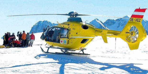 Jeden Tag 5.000 Ski-Unfälle