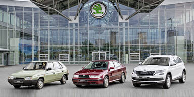 15-millionster Skoda unter VW-Obhut