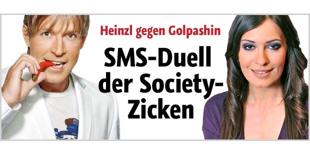 SMS-Duell - Friede im Krieg der TV-Stars