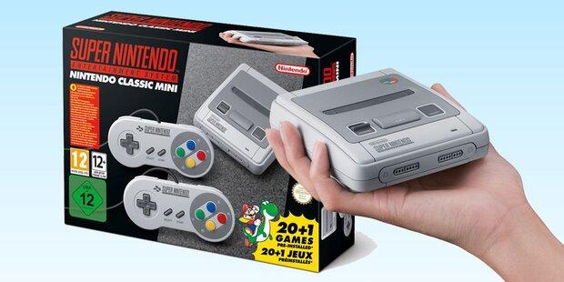Gewinner der Nintendos Retro-Konsole