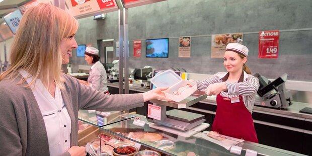 Spar verkauft Wurst & Käse verpackungslos