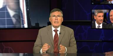 Stronach versus Spindelegger: Die Analyse mit Josef Broukal