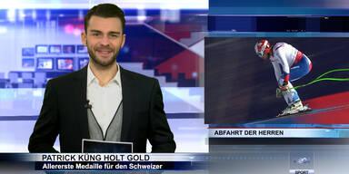 SKI WM 2015: Patrick Küng holt Abfahrts-Gold