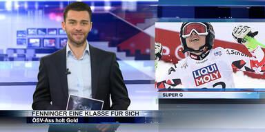 SKI WM 2015: Fenninger holt Gold im Super G