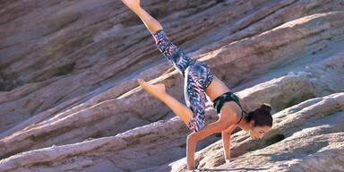 Bikini-Body mit Yoga