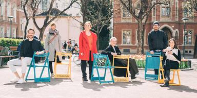 Neues Stuhl-StartUp in am Sankt-Elisabeth-Platz auf der Wieden