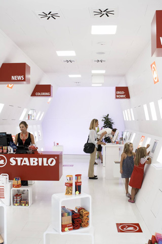 STABILO-Flasgship-Store in der Neubaugasse in Wien