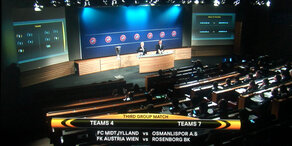 Champions und Europa League Play-Offs