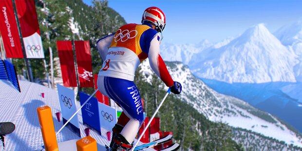 Steep Olympics: Herminator der Schirennspiele