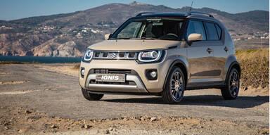 Suzuki verpasst dem Ignis ein Facelift