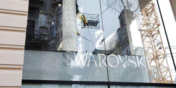 Swarovski plant Abbau Hunderter Jobs