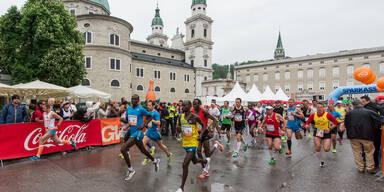 Teilnehmerrekord bei Salzburg Marathon