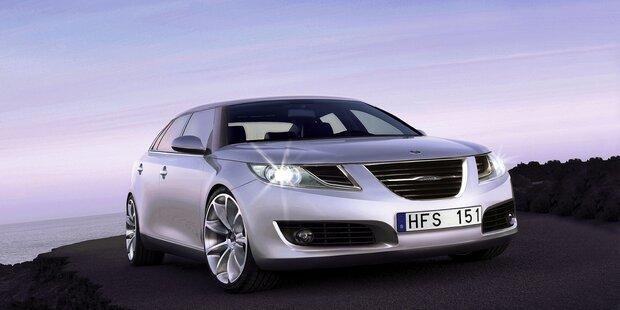 Der neue Saab 9-5 Limousine