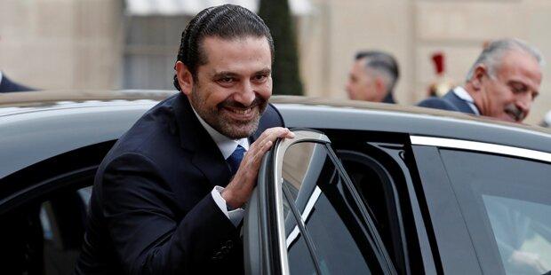 Hariri kündigte Rückkehr in sein Land an