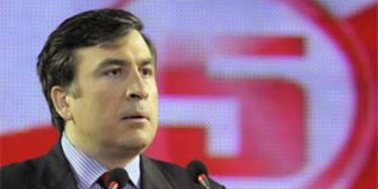 Georgiens Präsident Sakashvili. Archivbild.