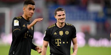 Sabitzer-Verletzung im Bayern-Training