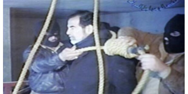 Irak versteigert Saddams Galgenstrick