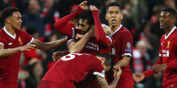 5:2! Liverpool-Torgala gegen Roma