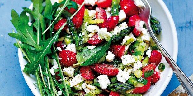 Kunterbunte Salate für den Frühling