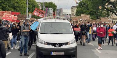 Salzburg Demo Black Lives Matter