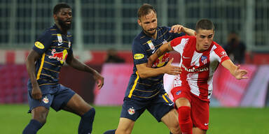 Salzburg bezwingt Atletico in Test 1:0