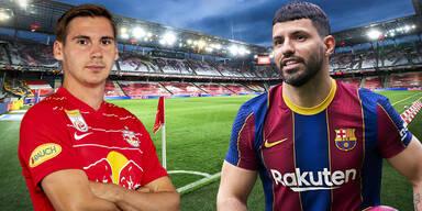 Salzburg gegen Barcelona