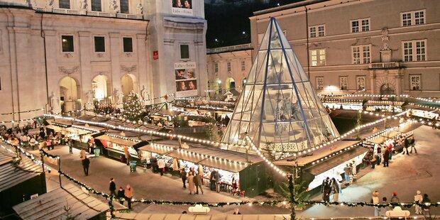 Salzburger Christkindlmarkt zu Ende