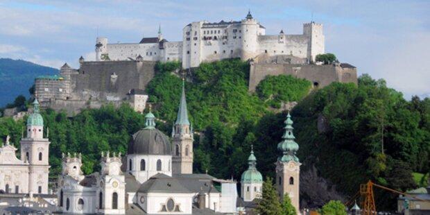 Mit dem Aufzug zur Salzburger Festung!