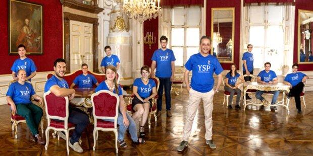 Maturaball-Stimmung im Young Singers Project