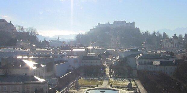 Stadtseilbahn in Salzburg