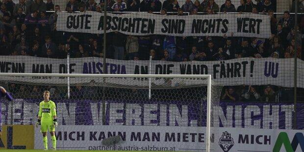 Austria Salzburg droht das Liga-Aus