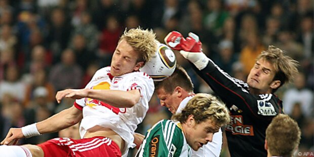 Salzburg nach 1:1 gegen Rapid vor dem Titel