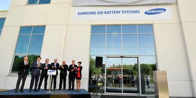 Samsung eröffnete Werk in Graz