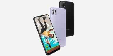 Galaxy A22 5G: Samsung bringt günstiges 5G-Handy