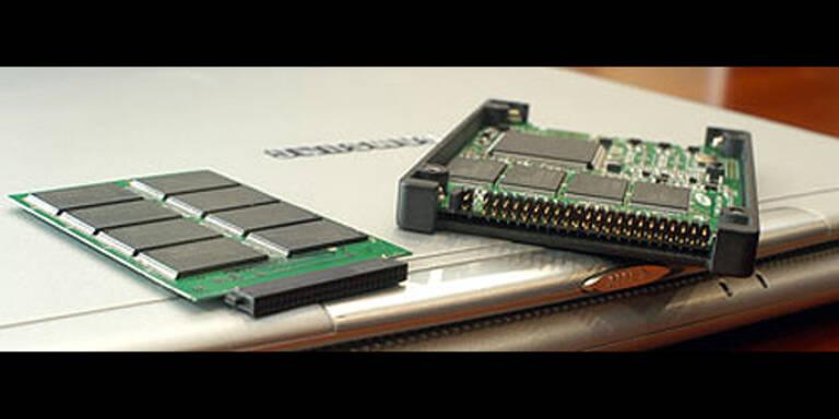 Hybrid-HD: Harddisk plus Flashspeicher