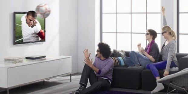 Samsung warnt vor eigenen 3D-Fernsehern