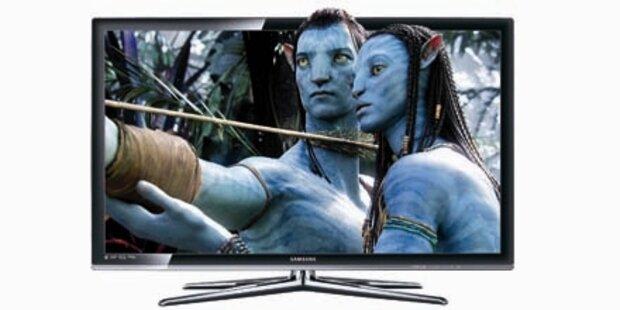 Verkaufs-Start für 3d-TV in Österreich